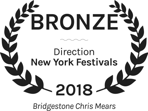 Bridgestone Chris Mears Bronze Direction New York Festivals 2018