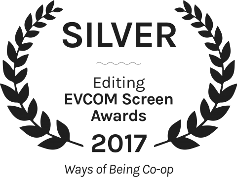 Ways of Being Co op Silver Editing EVCOM Screen Awards 2017