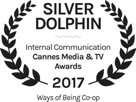 Ways of Being Co op Silver Dolphin Internal Communication Cannes Media TV Awards 2017