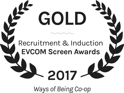 Gold evcom screen awards ways of being co op